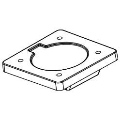 Ollin Laptop and Tablet Mount Weight for Flo (LAP/003/WGT/B)
