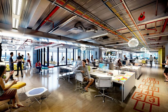 Changing Face Of A Modern Office Workspace