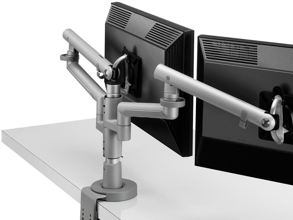 4 Monitor Stand Horizontal Adjustable Monitor Mount For 3