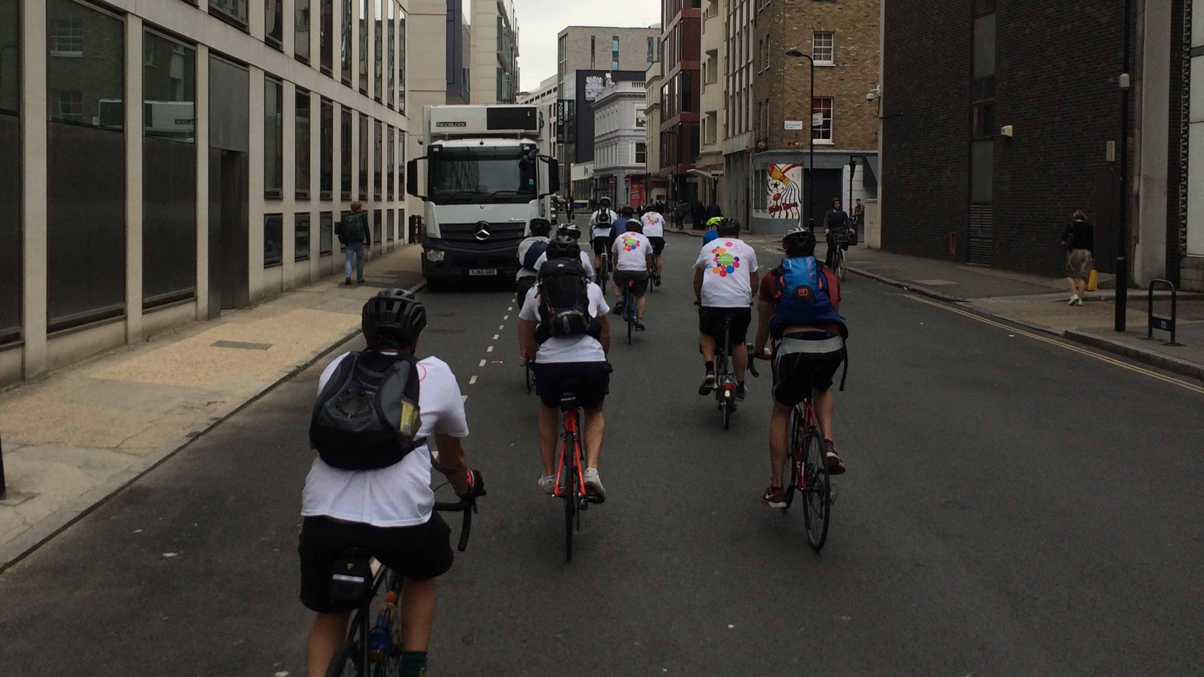 Team Cyril London To Cambridge Challenge